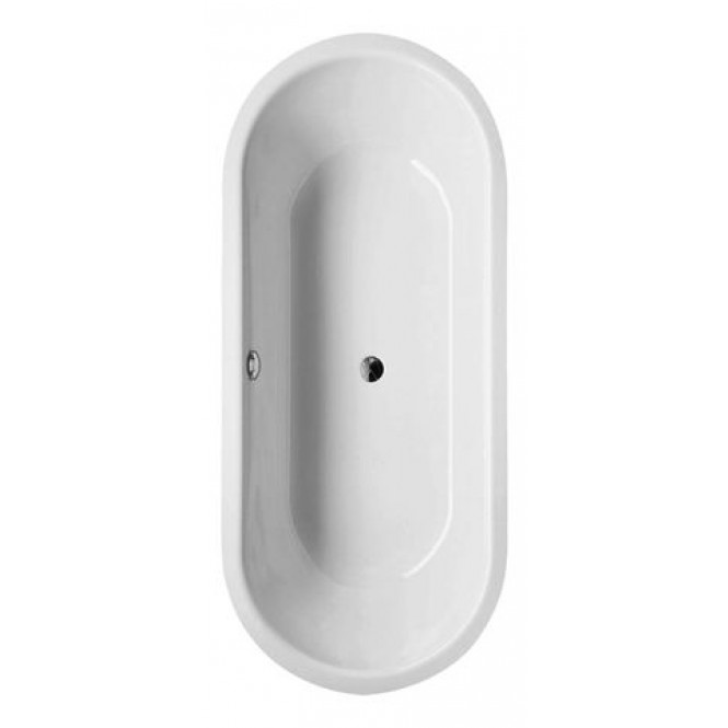BETTE BetteStarlet Flair Oval - Oval-Badewanne 1680 x 730mm pergamon