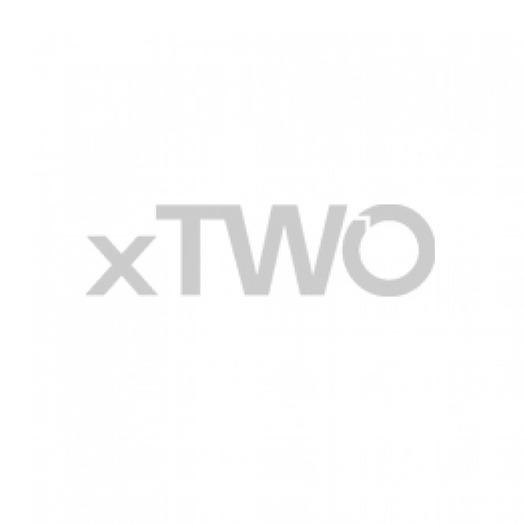 HSK Exklusiv - Wegschwenkbare Seitenwand zum Drehtür 04 weiß 800 x 2000 mm 50 ESG klar hell