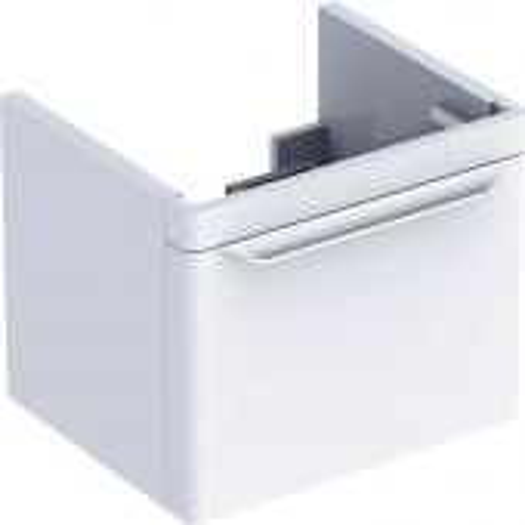 Geberit myDay - Waschtischunterschrank 540 x 410 x 405 mm taupe hochglanz