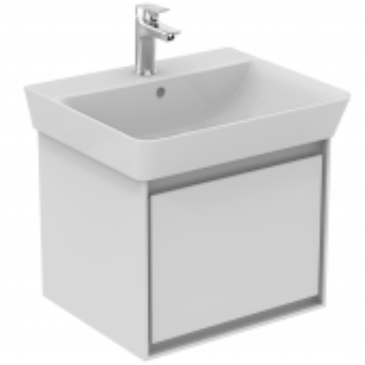 Ideal Standard Connect Air - Waschtisch-Unterschrank 485 x 412 x 400 mm weiß glänzend / matt