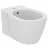 Ideal Standard Connect - Wandbidet 1 Hahnloch 360x 540 x 305 mm weiß mit Ideal Plus