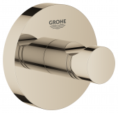 Grohe Essentials - Bademantelhaken nickel