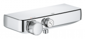 Grohe Grohtherm SmartControl - Thermostat-Brausebatterie Wandmontage chrom