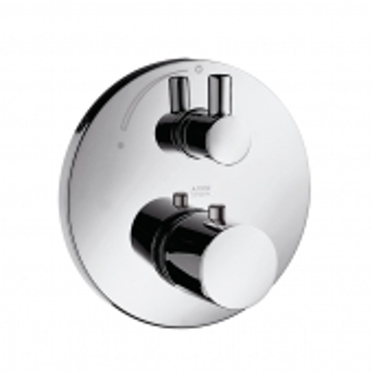 Hansgrohe Axor Uno² - Thermostat Unterputz mit Abstellventil
