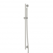 Steinberg Serie 100 BN - Brausegarnitur 900 mm mit Mikrofonhandbrause brushed nickel