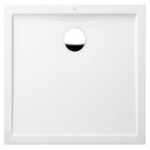 Villeroy & Boch Futurion Flat - Duschwanne rechteckig 1000x800 star white ohne Antislip