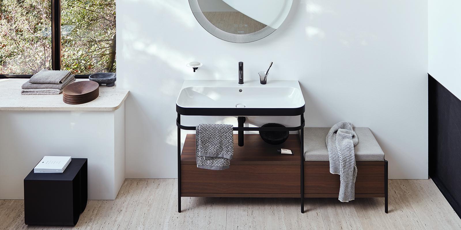 Duravit Happy D.2 Plus Badmöbel und Spiegel bei xTWOstore