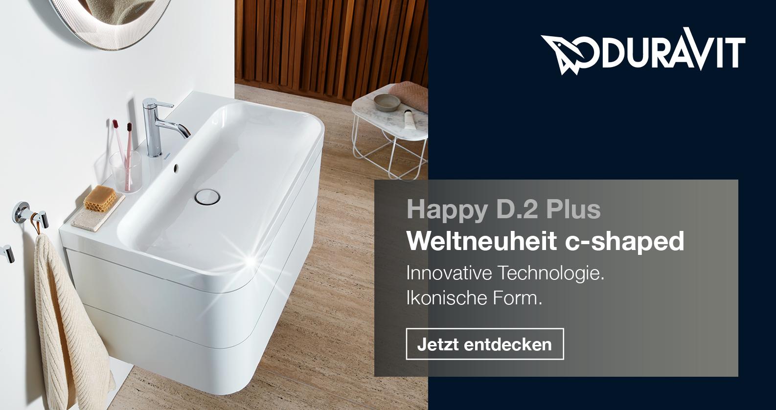 Duravit Happy D.2 Plus bei xTWOstore
