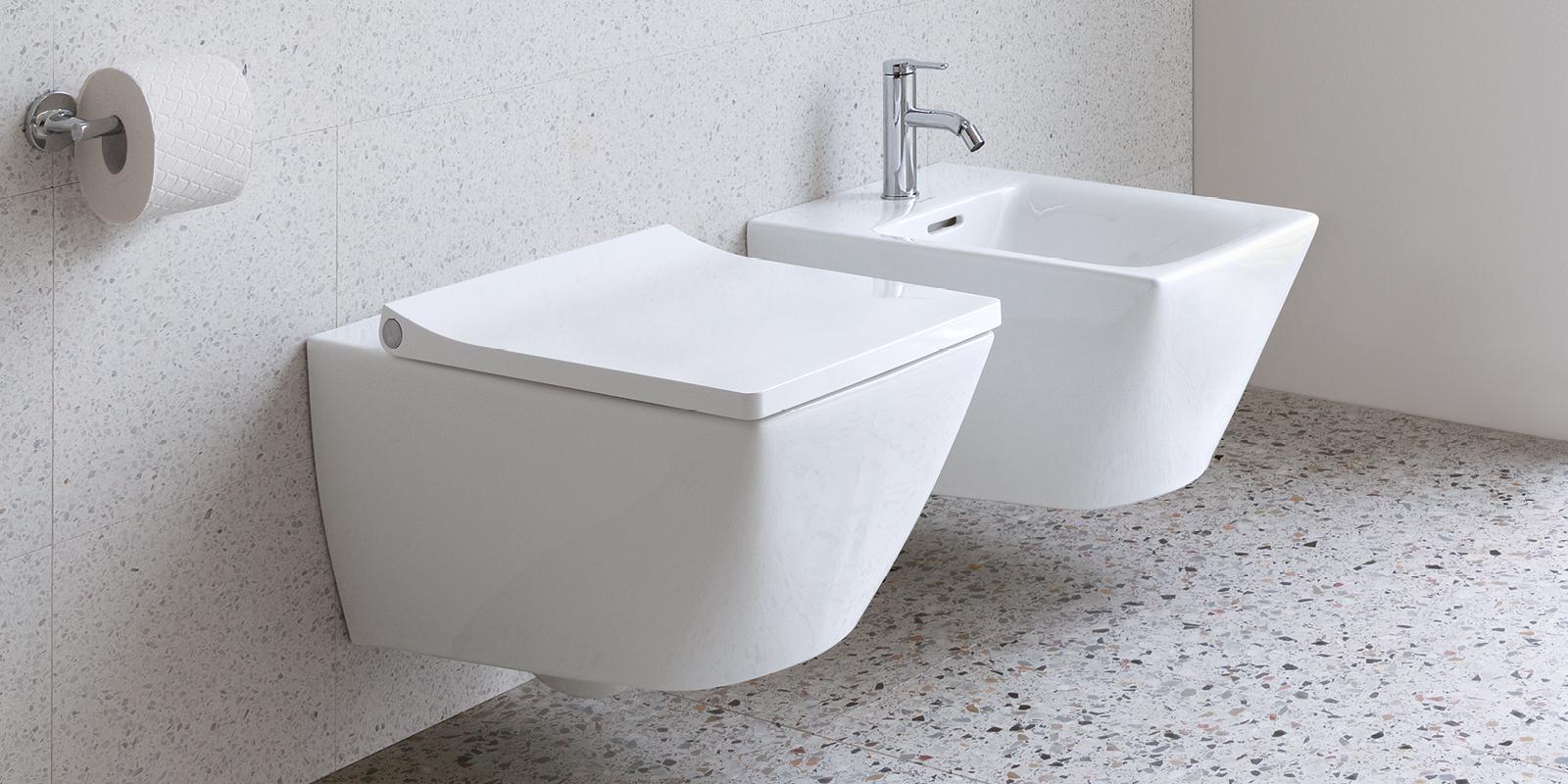 Duravit Viu WC und Bidet bei xTWOstore