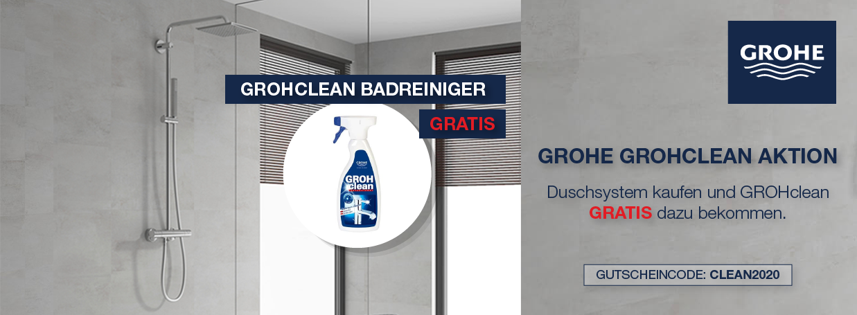 GROHE GROHclean gratis bei Aktion bei xTWOstore