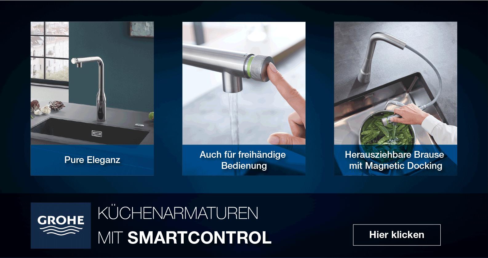 GROHE Küchenarmaturen mit SmartControl bei xTWOstore