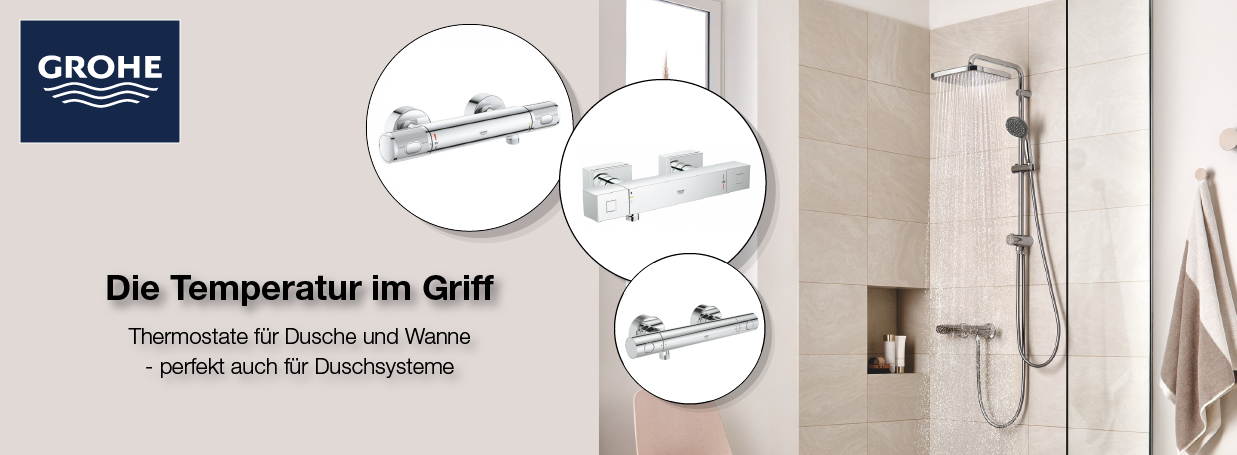 GROHE Thermostat-Aktion bei xTWOstore