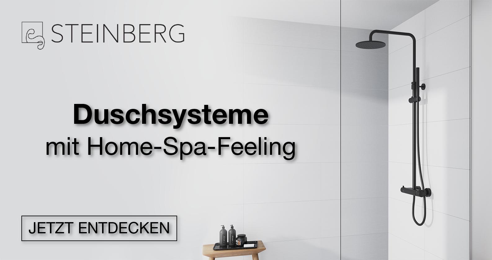 Steinberg Duschsysteme bei xTWOstore