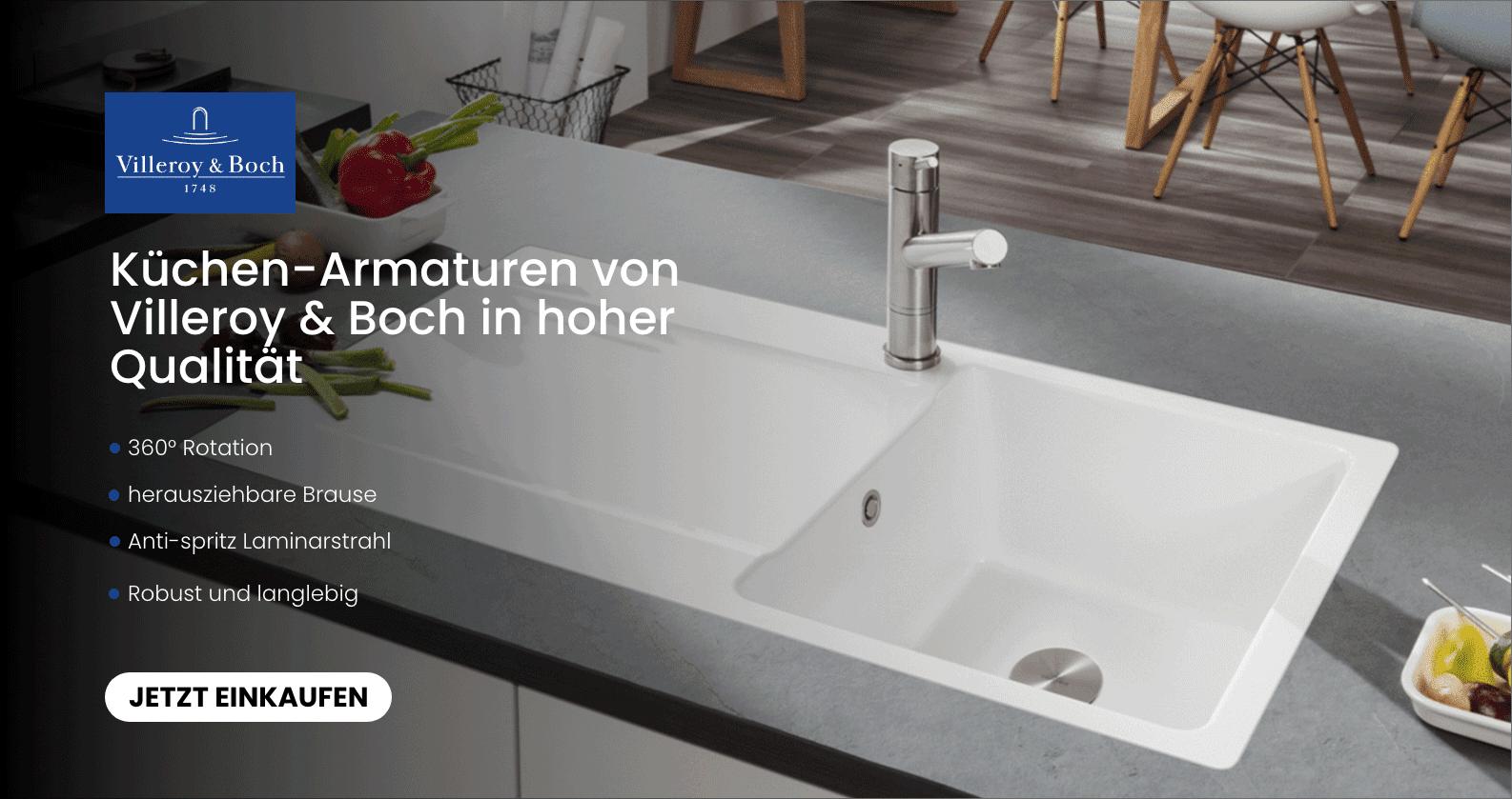 Küchenarmaturen von Villeroy & Boch bei xTWOstore entdecken