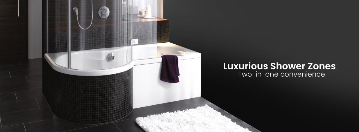 Badewannen mit Duschzone im Online-Shop fürs Bad | xTWOstore