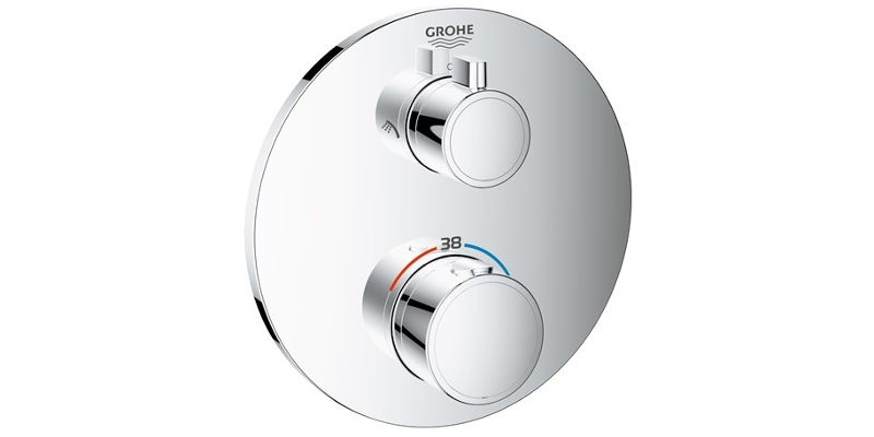 GROHE Thermostat Grohtherm rund
