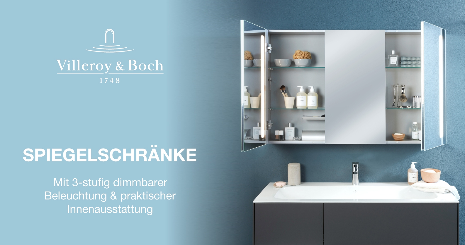 Villeroy & Boch Spiegelschränke