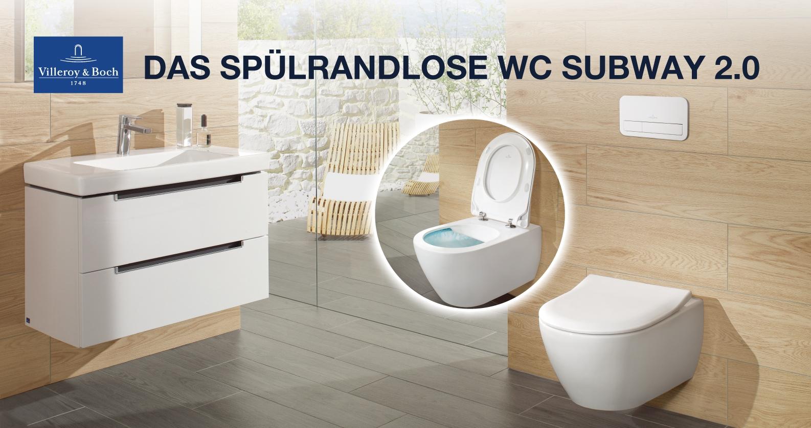 Villeroy & Boch Subway 2.0 WC mit DirectFlush